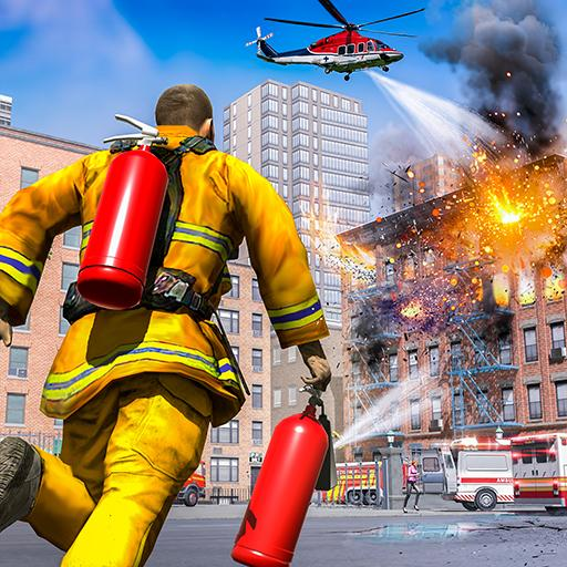 City Fire Fighter Airplane 911 Rescue Heroes (Mod) 1.2