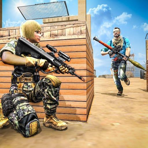 Commando Gun strike: FPS Shooting Games 2020 (Mod) 1.1