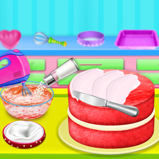 Cooking Red Velvet Cake in Kitchen: World Recipes (Mod) 1.0.4