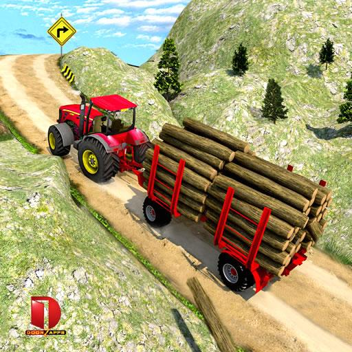 Drive Tractor trolley Offroad Cargo- Free 3D Games (Mod) 2.0.21