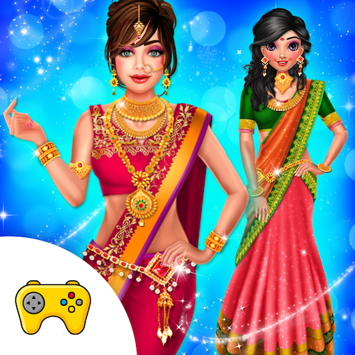 Indian Wedding Saree Designs Fashion Makeup Salon (Mod) 1.0.6