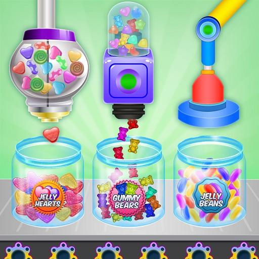 Jelly Candy Factory: Gumball & Lollipop Maker Chef (Mod) 1.4
