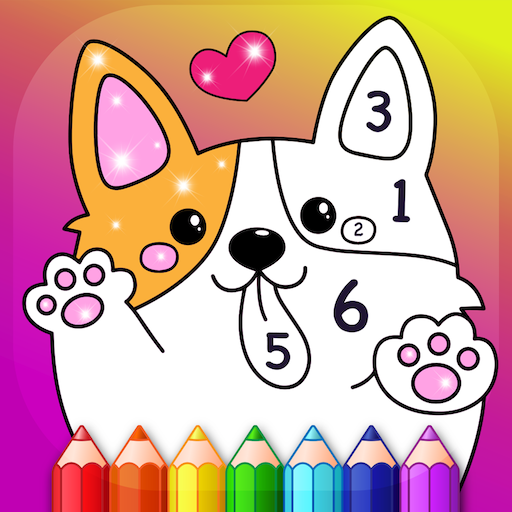 Kids Color by Numbers Book with Animated Effects (Mod) 2.3