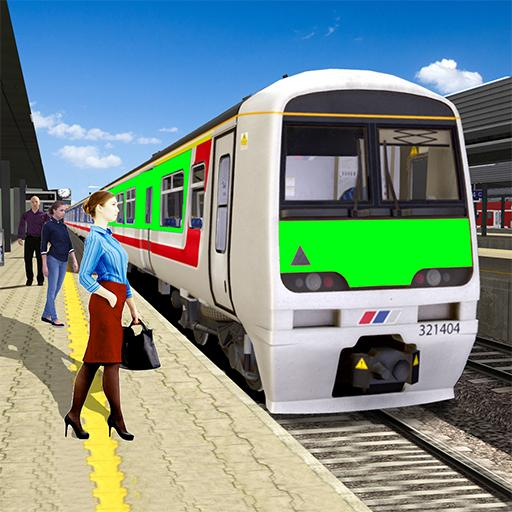 Modern Train Driving Simulator: City Train Games (Mod) 2.8
