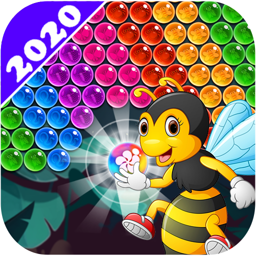 New Bubble Shooter Adventure Bee Bubble (Mod) 1.9.0