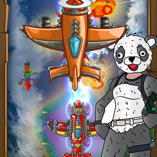 PANDA FIGHTER PLANE: AIR COMBAT 2020 GAMES (Mod) 2
