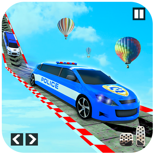 Police Limo Car Stunts – Mega Ramp Car Racing Game (Mod) 3