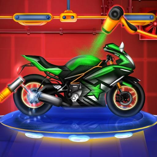Sports Motorcycle Factory: Motorbike Builder Games (Mod) 0.2