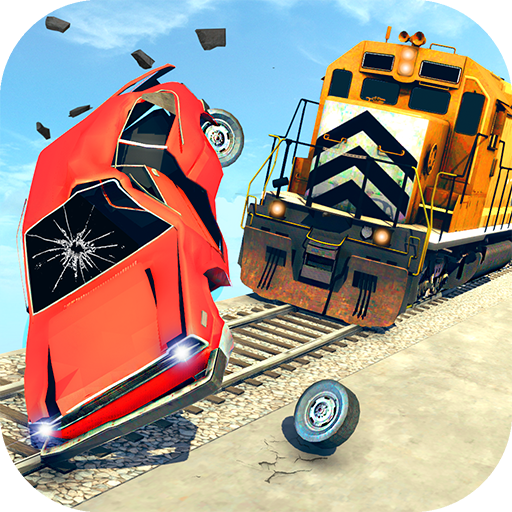 Train Vs Car Crash: Racing Games 2019 (Mod) 1.2