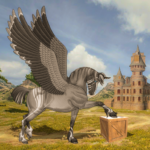 Flying Unicorn Horse Family Jungle Survival (Mod) 4.5