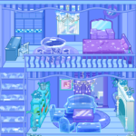 Frozen Dollhouse Design,Ice Dollhouse for girls (Mod) 1.0.9