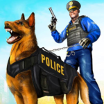 Police Dog Airport Crime Chase : Dog Games (Mod) 2.9
