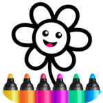 Toddler Drawing Academy🎓 Coloring Games for Kids (Mod)