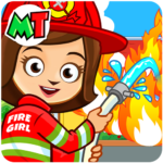 Fireman, Fire Station & Fire Truck Game for KIDS (Mod) 1.08
