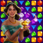Genies & Gold – Match 3 Jewel & Gem Adventure (Mod) 1.2.6