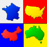 Maps of All Countries in the World: Geography Quiz (Mod) 3.1.0