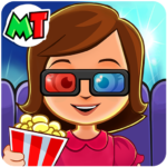 My Town : Cinema & Movie Star – Kids Movie Night (Mod) 1.10