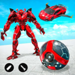 Red Ball Robot Car Games: Robot Car Transform (Mod) 1.4.1