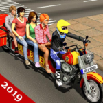 Bus Bike Taxi Driver – Transport Driving Simulator (Mod) 3.2