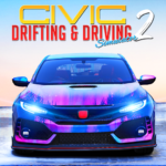 Drifting and Driving Simulator: Honda Civic Game 2 (Mod) 2.1