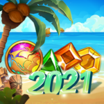 Island of Jewels: Aloha ! Match3 puzzle (Mod) 1.1.4