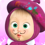 Masha and the Bear: Free Coloring Pages for Kids (Mod) 1.7.2
