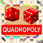Quadropoly Best AI Board Business Trading Game (Mod) 1.78.83