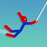 Super Hero Hook: Stickman Rope Swing (Mod) 1.0.4