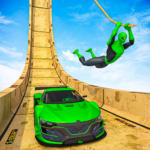 Superhero Mega Ramps: GT Racing Car Stunts Game (Mod) 1.23