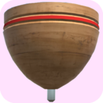 Traditional Spinning Top – 3D (Mod) 32