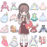 Vlinder Life: Dress up Avatar & Fashion Doll Games (Mod) 2.7.3