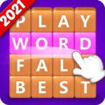 Word Fall – Brain training search word puzzle game (Mod) 3.2.5