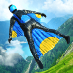 Base Jump Wing Suit Flying (Mod) 1.2