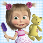 Masha and the Bear: House Cleaning Games for Girls (Mod) 2.0.0