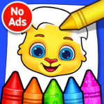 Coloring Games: Coloring Book, Painting, Glow Draw  1.1.5  (Mod)