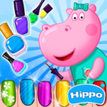 Hippo's Nail Salon: Manicure for girls (Mod) 1.1.9