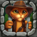 Indy Cat 2: Match 3 free game – jigsaw, puzzles  1.85  (Mod)