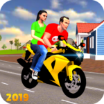 Offroad Bike Taxi Driver: Motorcycle Cab Rider  3.2.16 (Mod)