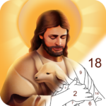 Bible Color – Paint by Number, Free Bible Games (Mod) 1.0.2