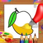 Fruits Coloring Book & Drawing Book (MOD Premium Cracked) 1.0.11