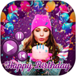 Birthday Photo Effect Video Maker with Song (MOD Premium Cracked) 1.14